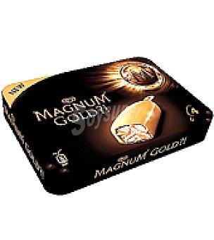 MAGNUM de FRIGO Magnum gold Pack de 4 uds