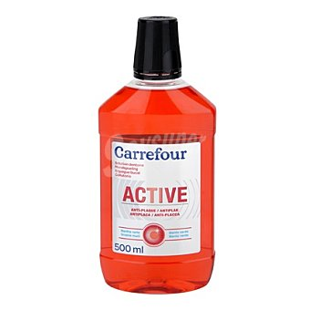 Carrefour Enjuague bucal antiplaca 500 ml