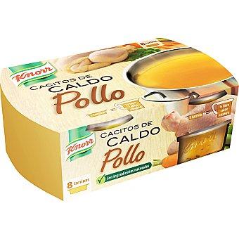 Knorr Caldo de pollo cacitos 8 ud