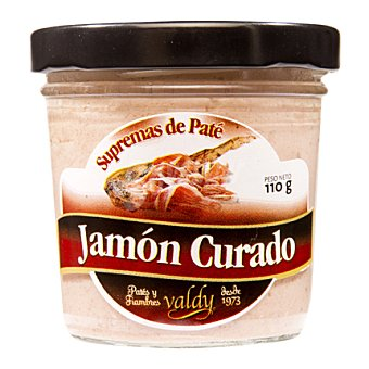 Valdy Pate jamón suprema en tarro de cristal 110 g