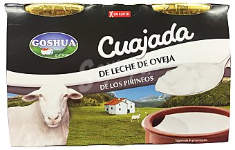 Goshua Cuajada oveja 2 unidades de 140 g - 280 g