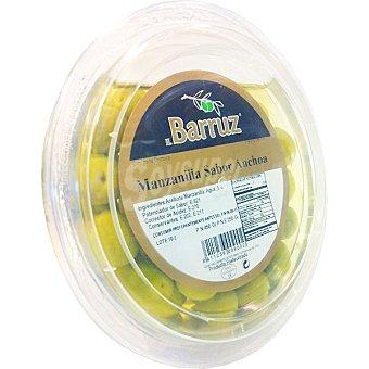 Barruz Aceitunas manzanilla sabor a anchoa Tarrina 250 g neto escurrido