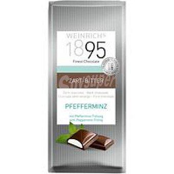 1895 Chocolate negro extrafino relleno de menta 100 g