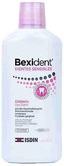 Isdin bexident Enjuague bucal sin alcohol para la mejora de la hipersensibilidad dental Botella 500 ml