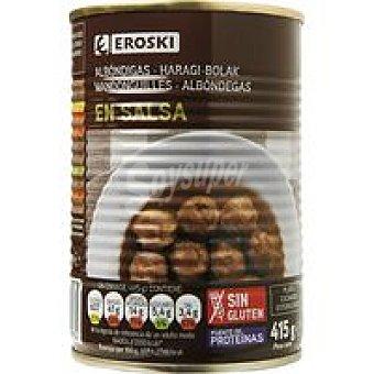 Eroski Albondigas en salsa Lata 415 g