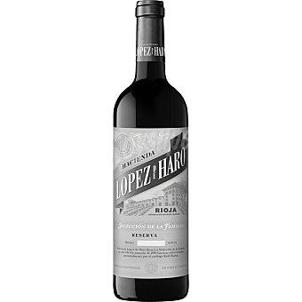 Lopez de haro vino tinto reserva exclusiva selección de la familia D.O. Rioja  botella 75 cl
