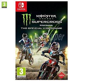 BANDAI NAMCO Monster Energy Supercross Switch Videojuego Monster Energy Supercross para Nintendo Switch. Género: Carreras. pegi: +3