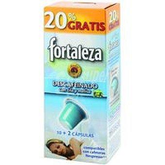 Fortaleza Café Descafeinado con Melisa Capsulas +20%