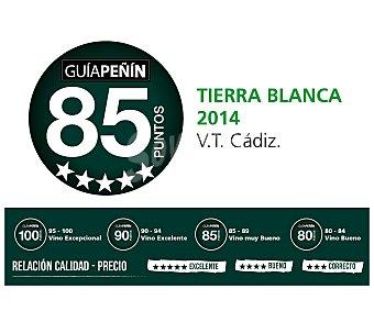 Tierra Blanca Vino blanco semidulce de Andalucía Botella 75 cl