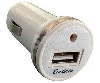 CARLínea Cargador para toma de mechero de 12V a USB, CARLINE.