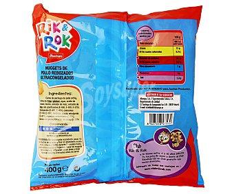 Rik&Rok Auchan Nugget de Pollo auchan RIK & ROK 400 Gramos (4,12€/KG) 400g