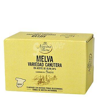 De nuestra tierra Filetes de melva canutera en aceite de oliva 78 g
