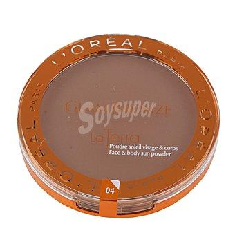 L'Oréal Polvos Compactos Glam Bronze 04 1 ud