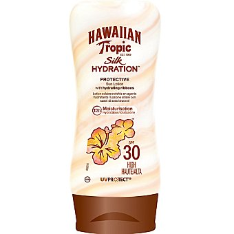 Hawaiian Tropic Loción solar FP 30 Silk Hydration 180 ml