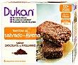 Barritas de salvado de avena con sabor a chocolate y avellanas 150 gramos Dukan