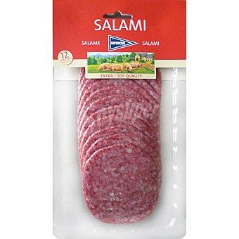 Hipercor Salami extra en lonchas envase 150