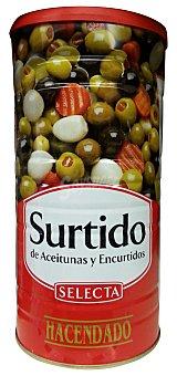 Hacendado Aceituna y encurtidos surtidos Lata 1460 g