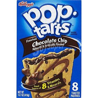 Pop Tarts Kellogg's Galletas rellenas de chocolate para fundir Paquete 416 g