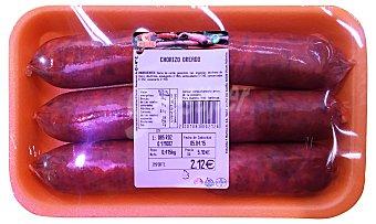 Embutidos Martínez Chorizo magro fresco Bandeja 500 g peso aprox. (6 unidades)