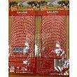 Salami extra en lonchas envase 225 g Pack 2 x 112,5 g Aliada