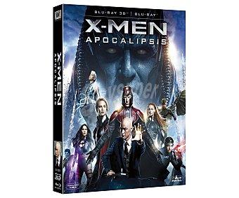 CIENCIA FICCIÓN X-Men Apocalipsis, 2016, película en Bluray y . Género: ciencia ficción, súper héroes. Edad: +7 años 3D