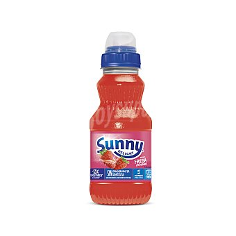 Sunny Delight Refresco sabor fresa Botella 310 ml