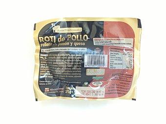 C.TENEDORES Comida preparada roti pollo (relleno jamon y queso) Paquete 375 g