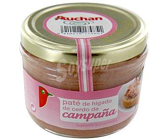 Auchan Paté de campaña Tarro de125 gramos