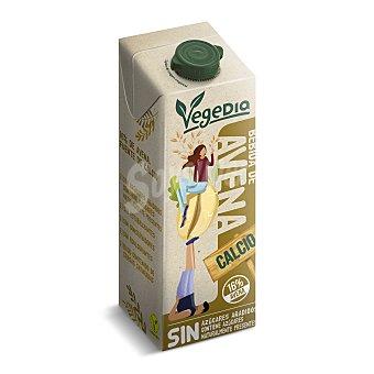 VEGEDIA Bebida de avena con calcio Envase 1 lt