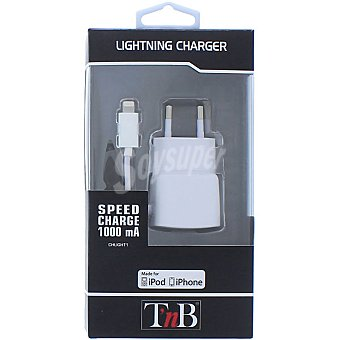 T'NB CHLIGHT1 Cargador para iphone y ipod