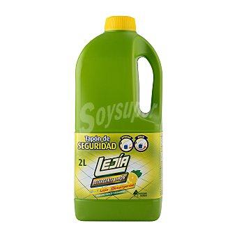 Bosque Verde Lejia detergente limon Botella 2 l