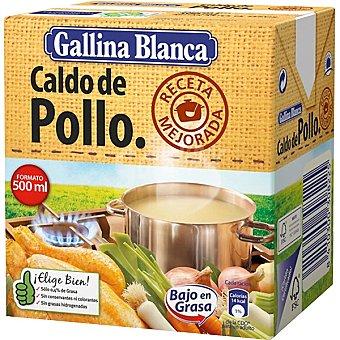 Gallina Blanca Caldo de pollo casero Envase 500 ml