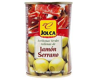 Jolca Aceitunas rellenas de jamón 130 g