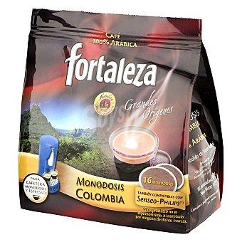 Fortaleza Café Colombia monodosis 16 ud
