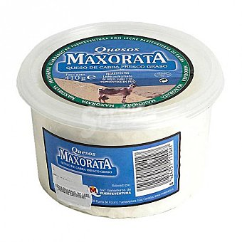 Maxorata Queso fresco Tarrina 410 grs