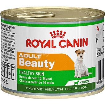 ROYAL CANIN ADULT BEAUTY Alimento para perros adultos hasta 10 kg de peso para el cuidado de la piel y el pelo lata 195 g 10 kg