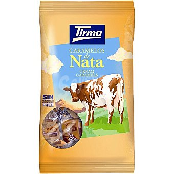 Tirma Caramelos masticables de nata Bolsa 125 g