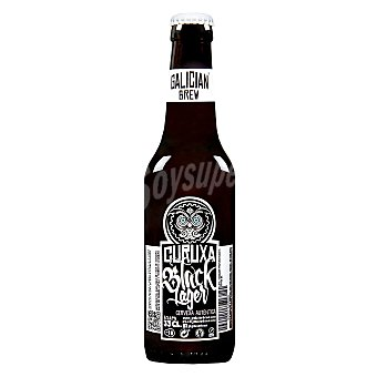 Galician Brew Cerveza artesana Curuxa Black Lager 33 cl