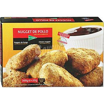 EL CORTE INGLES Nuggets de pollo con salsa barbacoa estuche 350 g