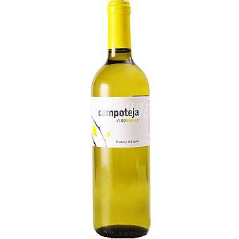 CAMPOTEJA Vino blanco de Andalucía  Botella de 1 l