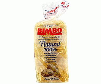 Bimbo Pan sándwich 100% natural  460 gramos