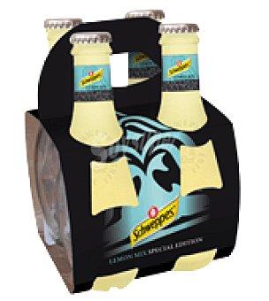 Schweppes Refresco limón edición especial Pack de 4x20 cl