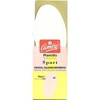CUMBRE Plantillas sport 40-41