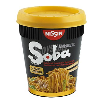 NISSIN Pasta classic Soba cup 90 g