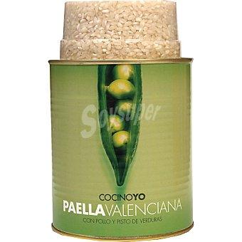 Cocino yo Paella valenciana 1,04 kg