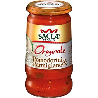 SACLA Salsa tomate cherry y parmesano Envase 420 g