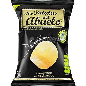 LAS PATATAS DEL ABUELO Patatas fritas chips con aceite de oliva Bolsa 130 g
