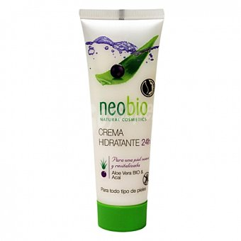 Neobio Crema facial hidratante 24h ecológico 50 ml 50 ml