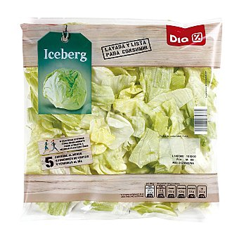 DIA Lechuga iceberg Bolsa de 200 g
