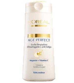 Age Perfect L'Oréal Paris Leche desmaquillante anti-fatiga pieles maduras 200 ml